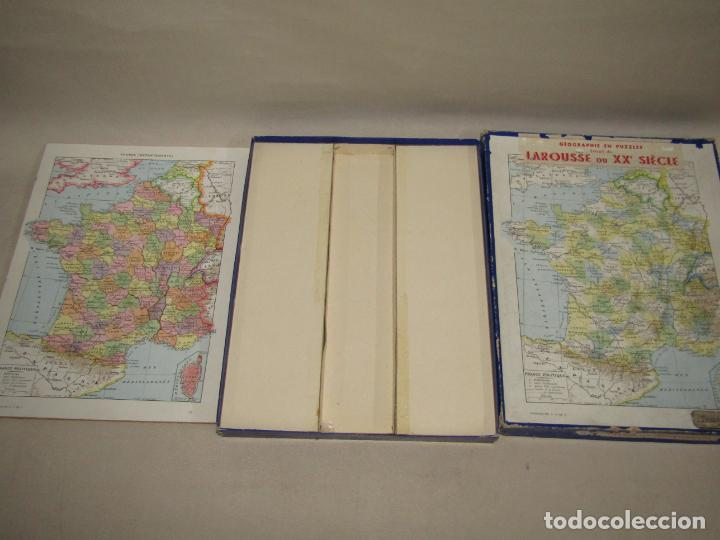 Puzzles: Antiguo Puzzle Rompecabezas de FRANCIA por Departamentos de Juegos Artísticos - Año 1950-60s. - Foto 3 - 223238290