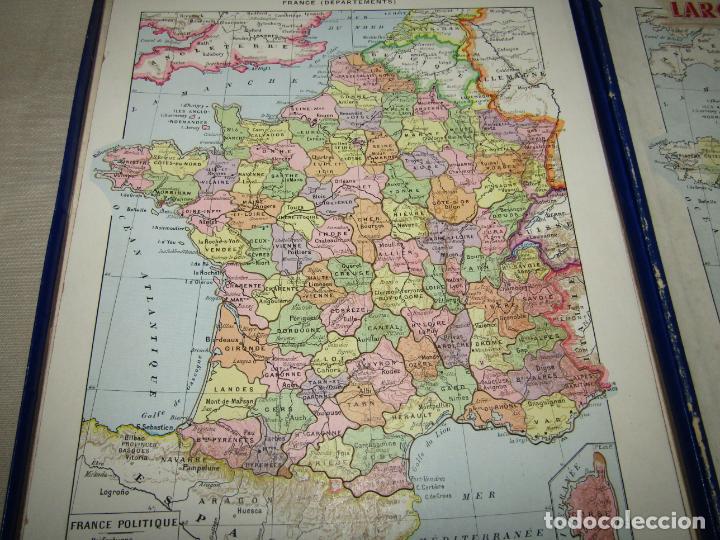 Puzzles: Antiguo Puzzle Rompecabezas de FRANCIA por Departamentos de Juegos Artísticos - Año 1950-60s. - Foto 5 - 223238290