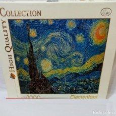 Puzzles: PUZZLE 2000 PIEZAS CLEMENTONI VAN GOGH - HIGH QUALITY COLLECTION (REF. ART 32078). Lote 224555725