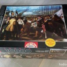 Puzzles: PUZZLE 10000 PIEZAS EDUCA - PUZLE LA RENDICION DE BREDA, VELAZQUEZ (DESCATALOGADO Y NUEVO). Lote 226061280