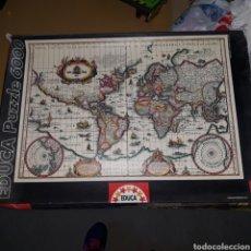 Puzzles: PUZZLE EDUCA 6000 PIEZAS MAPA MUNDI. Lote 226390807