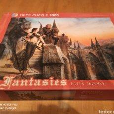 Puzzles: PUZZLE HEYE, FANTASIES. LUIS ROYO, 1000 PIEZAS. Lote 227607610
