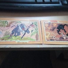 Puzzles: 2 PUZZLES DE LA COLECCION DE 6 DEL REY LEON DE NESTLE 1994. Lote 227682135