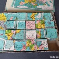 Puzzles: ANTIGUO PUZZLE CON MAPAS POLÍTICOS. Lote 227721070