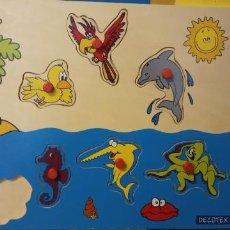 Puzzles: PUZZLE ANIMALES. DECOTEX. MEDIDAS 30*21 CM.. Lote 227798610