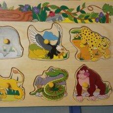 Puzzles: PUZZLE ANIMALES. DECOTEX. MEDIDAS 30*21 CM.. Lote 227798690