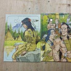 Puzzles: PUZZLES LA LEYENDA DE POCAHONTAS VIDAL GOLOSINAS PREMIO DIPPERS. Lote 227894593