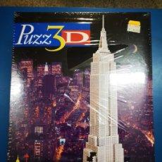 Puzzles: MB PUZZLE 3D EMPIRE STATE A ESTRENAR. Lote 227897441