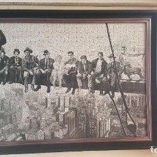 Puzzles: PUZZLE . ACTORES DE CINE EN ANDAMIO DE EDIFICIO .. Lote 228550410
