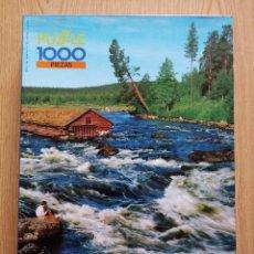 Puzzles: ANTIGUO PUZZLE 1000 PIEZAS DIDACTA –VIEJO ASERRADERO PUZLE. Lote 228649440