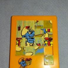 Puzzles: MINI PUZZLE DE LOS PITUFOS AÑOS 80 PUZLE. Lote 229156951