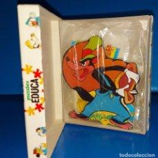 Puzzles: PUZZLE Y FIGURA WALT DISNEY CAPERUCITA DE EDUCA-. Lote 230255655