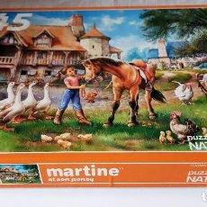 Puzzles: PUZZLE 45 PIEZAS - MARTINA Y SU PONI. Lote 230533945