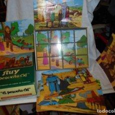 Puzzles: ANTIGUO ROMPECABEZAS PUZZLE RUY EL PEQUEÑO CID TOMO I DALMAU CARLES PLA S.A AÑOS '80. Lote 230595325