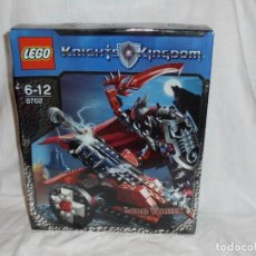 Puzzles: LEGO KNIGHTS KINGDOM 8702 LORD VLADEK.COMPLETO. Lote 230615700