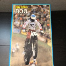 Puzzles: PUZZLE ANTIGUO MOTOCROSS EDUCA 1982, JUGUETE ANTIGUO. Lote 230713915