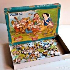 Puzzles: PUZZLE DE 50 PIEZAS DISNEY (INCOMPLETO). Lote 231048380