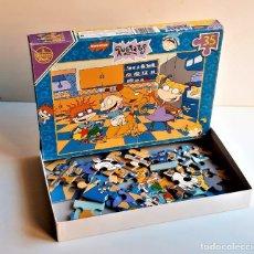 Puzzles: PUZZLE RUGRATS DE 35 PIEZAS (INCOMPLETO). Lote 231051390