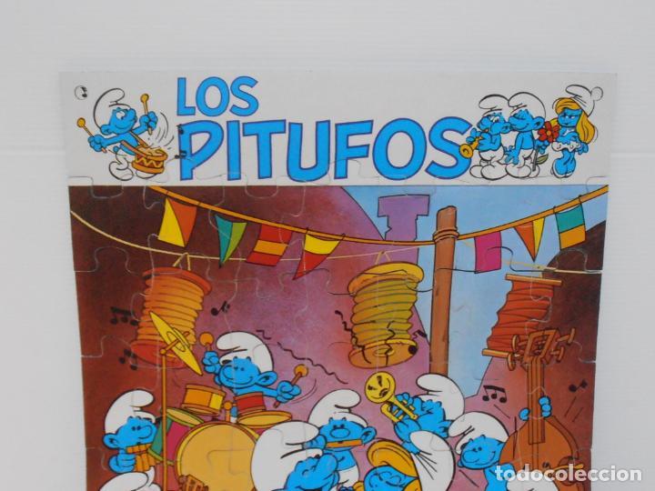 Puzzles: PUZZLE MURAL, LOS PITUFOS, FESTIVAL, DIDACTA DE JUGUETES, REF 3551, ESPUMILLA, AÑOS 80 - Foto 2 - 232799940