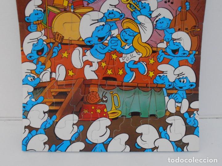 Puzzles: PUZZLE MURAL, LOS PITUFOS, FESTIVAL, DIDACTA DE JUGUETES, REF 3551, ESPUMILLA, AÑOS 80 - Foto 4 - 232799940