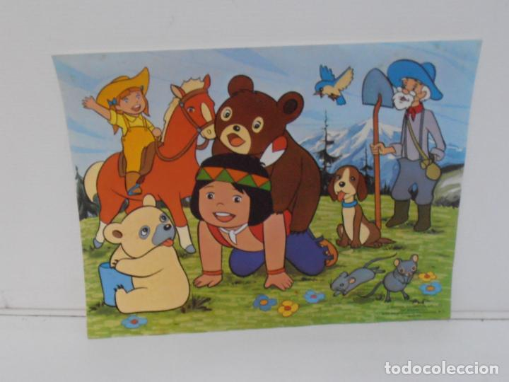 Puzzles: PUZZLE EL BOSQUE DE TALLAC, JACKIE Y NUCA, 2 PUZZLES DALMAU, COMPLETOS, AÑOS 80 - Foto 4 - 232878920
