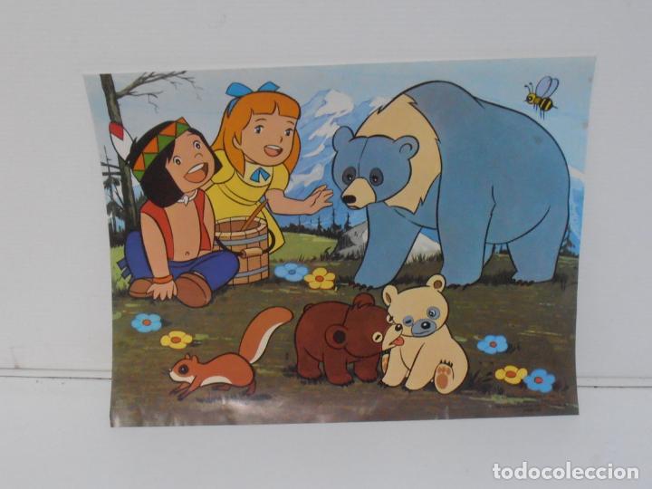 Puzzles: PUZZLE EL BOSQUE DE TALLAC, JACKIE Y NUCA, 2 PUZZLES DALMAU, COMPLETOS, AÑOS 80 - Foto 5 - 232878920