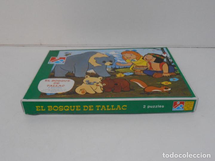 Puzzles: PUZZLE EL BOSQUE DE TALLAC, JACKIE Y NUCA, 2 PUZZLES DALMAU, COMPLETOS, AÑOS 80 - Foto 6 - 232878920
