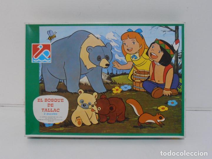 Puzzles: PUZZLE EL BOSQUE DE TALLAC, JACKIE Y NUCA, 2 PUZZLES DALMAU, COMPLETOS, AÑOS 80 - Foto 8 - 232878920