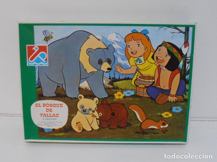 PUZZLE EL BOSQUE DE TALLAC, JACKIE Y NUCA, 2 PUZZLES DALMAU, COMPLETOS, AÑOS 80 (Juguetes - Juegos - Puzles)