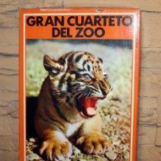 Puzzles: GRAN CUARTETO DEL ZOO - EDUCA - NUEVO Y PRECINTADO - ANTIGUO JUEGO DE MESA - REF. 16058. Lote 233959630