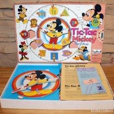 Puzzles: TIC TAC MICKEY - EDUCA - NUEVO Y SIN USO - ANTIGUO JUEGO DE MESA. Lote 233959885