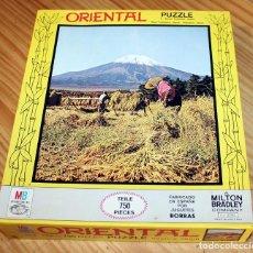 Puzzles: ANTIGUO PUZZLE ORIENTAL, DE MB Y BORRAS - NUEVO A ESTRENAR - SIN USO. Lote 234015480