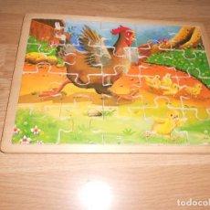 Puzzles: PUZZLE DE MADERA DE 20 PIEZAS - GALLO - COMPLETO . DISPONGO DE MAS JUGUETES Y JUEGOS. Lote 234295475