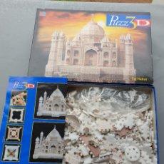 Puzzles: TAJ MAHAL. PUZZLE 3D. COMPLETO. DE MB. Lote 234408290