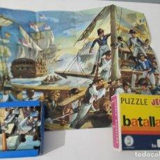 Puzzles: MINI PUZZLE ANTIGUO JEFE. Lote 234962430