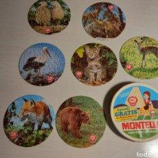 Puzzles: LOTE DE 7 PUZZLES MG MONTELLA CON CAJA. Lote 235147090