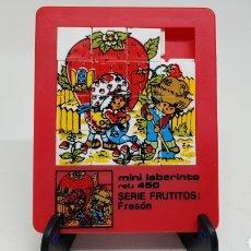 Puzzles: MINI LABERINTO PUZZLE TIPO DIABLOTIN REF 450 FRUTITOS FRESON. Lote 235337005