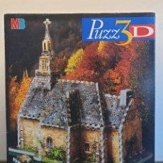 Puzzles: PUZZ3D IGLESIA DE CAMPO - COUNTRY CHURCH. PUZLE PUZZLE 3D. DESCATALOGADO. NUEVO (ENVÍO 4,31€). Lote 235932595