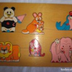 Puzzles: PUZLE DE ANIMALES 1989. MARCA GOULA. Lote 236250190