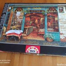 Puzzles: PUZZLE EDUCA, 1000 PIEZAS, BISTRO FRANCES. Lote 236695985