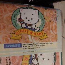 Puzzles: PUZZLES FAVORITES DE LOS DIBUJITOS ANIMADOS DE SINDY Y BABY,S. Lote 236818200