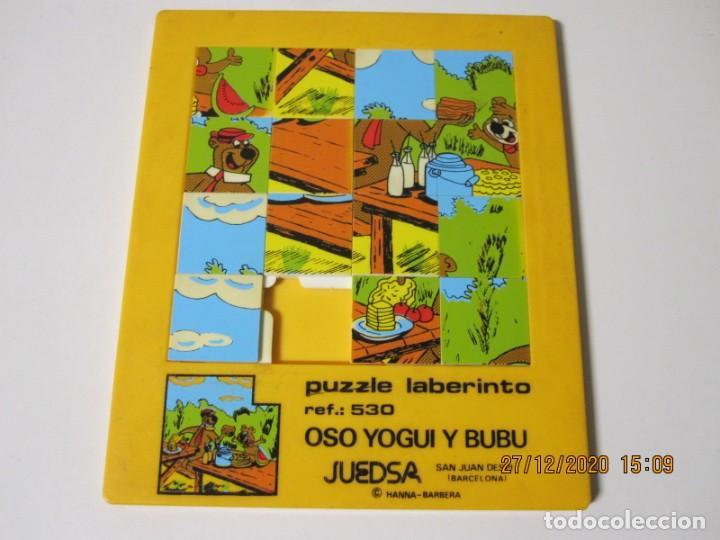 PUZZLE PUZLE LABERINTO REF. 530 OSO YOGUI Y BUBU JUEDSA '80S. 20X17 (Juguetes - Juegos - Puzles)