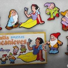 Puzzles: PUZZLE BLANCANIEVES AÑOS 80. Lote 238080935