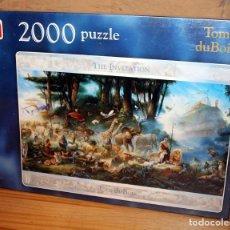 Puzzles: PUZZLE TOM DUBOIS - THE INVITATION - JUMBO - 2000 PIEZAS - NUEVO A ESTRENAR - PRECINTADO. Lote 238080950
