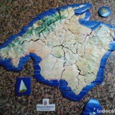Puzzles: PUZZLE MAPA DE MALLORCA DE GOMA. Lote 240361940