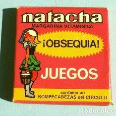 Puzzli: NATACHA MARGARINA VITAMINICA (AÑOS 70) OBSEQUIO JUEGO ROMPECABEZAS DEL CIRCULO. Lote 240477050