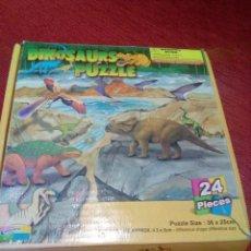 Puzzles: PUZZLE DINOSAURIOS PARA NIÑOS DE MAS DE 3 AÑOS. Lote 240779090