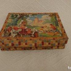 Puzzles: ANTIGUO PUZLE, ROMPECABEZAS DE CUBOS CARTON. Lote 241312495