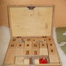Puzzles: GASTOS 10€.PUZZLE DE MADERA DE CASTILLOS EN FORMA DE CUBO . RETRO & VINTAGE .. Lote 241458165