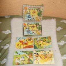 Puzzles: GASTOS 8€.PUZZLE DE CARTON EN FORMA DE CUBO. RETRO & VINTAGE AÑOS 70. Lote 241459000